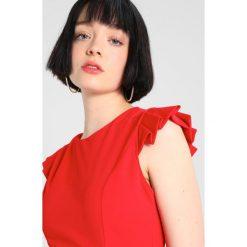 Sukienki hiszpanki: WAL G. BOW BACK MINI DRESS Sukienka etui red