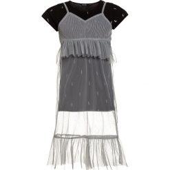 Sukienki dziewczęce letnie: Blue Seven 2IN1  Sukienka letnia silber