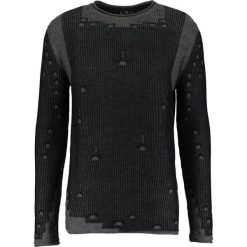 Swetry klasyczne męskie: Key Largo CLUB Sweter anthra