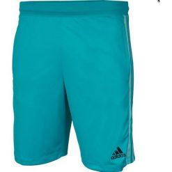 Spodenki sportowe męskie: Adidas Spodenki męskie Design 2 Move Short 3 Stripes M turkusowe r. S (BQ3191)