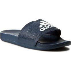 Klapki adidas - adilette CF+C AQ3116 Conavy/Ftwwht/Conavy. Niebieskie chodaki damskie Adidas, z materiału. Za 129,00 zł.
