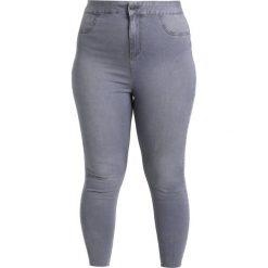 New Look Curves HW DISCO GREY Jeans Skinny Fit light grey. Szare rurki damskie New Look Curves. W wyprzedaży za 170,10 zł.