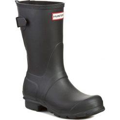 Kalosze HUNTER - Orig Black Adj Short WFS1013RMA Black. Czarne buty zimowe damskie Hunter, z kauczuku. Za 549,00 zł.
