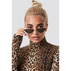 Statement By NA-KD Influencers Okulary przeciwsłoneczne Nina Groer Metal Cateye - Gold. Szare okulary przeciwsłoneczne damskie lenonki marki ORAO. Za 80,95 zł.