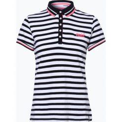 Superdry - Damska koszulka polo, czarny. Czarne bluzki sportowe damskie Superdry, m, polo. Za 249,95 zł.