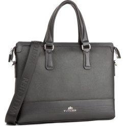 Torba na laptopa WITTCHEN - 85-3U-114-1 Czarny. Czarne plecaki męskie Wittchen. W wyprzedaży za 409,00 zł.