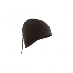Czapka Thermic wszechstronna. Czarne czapki damskie marki ARTENGO, z elastanu. Za 19,99 zł.