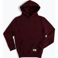 Review - Chłopięca bluza nierozpinana, czerwony. Czerwone bluzy chłopięce rozpinane marki Review, z kapturem. Za 139,95 zł.