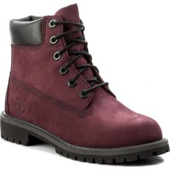 Trapery TIMBERLAND - 6 In Premium Wp Boot A1O82 Port Royale. Czerwone buty zimowe chłopięce marki Timberland, z gumy. W wyprzedaży za 389,00 zł.