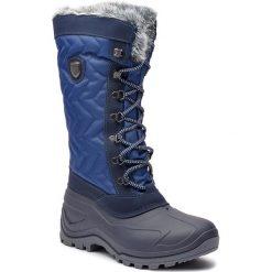 Śniegowce CMP - Nietos Wmn 3Q47966 Marine M934. Niebieskie buty zimowe damskie CMP, z materiału. Za 299,99 zł.