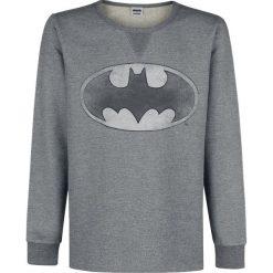 Bejsbolówki męskie: Batman Logo Bluza odcienie szarego
