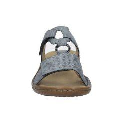 Sandały damskie: Sandały Rieker  Niebieskie klapki  60885-12
