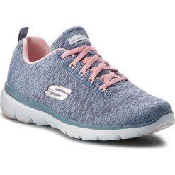 Buty SKECHERS - Flex Appeal 3.0 13062/SLTP Slate/Pink. Niebieskie buty do fitnessu damskie marki Skechers. W wyprzedaży za 209,00 zł.