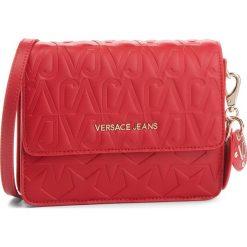 Torebka VERSACE JEANS - E1VSBBH1 70780 500. Czerwone listonoszki damskie Versace Jeans, z jeansu, bez dodatków. Za 749,00 zł.