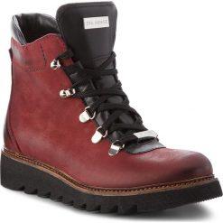 Botki EVA MINGE - Pontevedra 18SM1372541EF  434. Czerwone buty zimowe damskie Eva Minge, z nubiku. Za 519,00 zł.