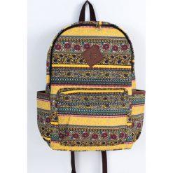 Plecaki damskie: Art of Polo Plecak miejski Aztec life żółty