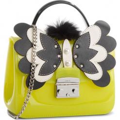 Torebka FURLA - Candy Melita 961712 B BQA5 J63 Ranuncolo e/Onyx. Żółte torebki klasyczne damskie marki Furla, z tworzywa sztucznego, bez dodatków. W wyprzedaży za 709,00 zł.