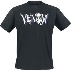 Venom (Marvel) Logo T-Shirt czarny. Czarne t-shirty męskie z nadrukiem Venom (Marvel), xl, z okrągłym kołnierzem. Za 74,90 zł.
