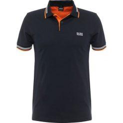 BOSS ATHLEISURE PAUL SLIM FIT Koszulka polo black. Niebieskie koszulki polo marki BOSS Athleisure, m. Za 379,00 zł.
