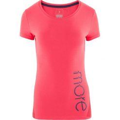 Outhorn Koszulka damska HOL18-TSD601 różowa r. M. Szare bluzki damskie marki Outhorn, melanż, z bawełny. Za 24,99 zł.