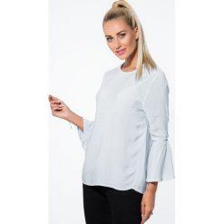 Koszule damskie: Niebieska Koszula w Paski 21106