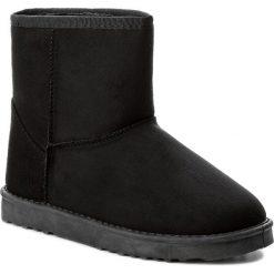 Buty JENNY FAIRY - WS1655-20 Czarny. Czarne buty zimowe damskie Jenny Fairy, z materiału. Za 69,99 zł.