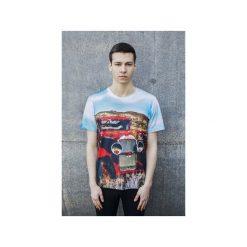 T-shirt Oldtimer. Szare t-shirty męskie z nadrukiem marki Bahabay, m, z bawełny. Za 83,30 zł.