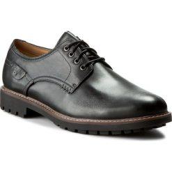 Derby męskie: Półbuty CLARKS - Montacute Hall 203510847 Black Leather