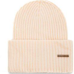 Czapka TRUSSARDI JEANS - Hat Rib-Knitted 59Z00079 W030. Szare czapki zimowe damskie marki Calvin Klein Jeans, na zimę, z jeansu. Za 189,00 zł.