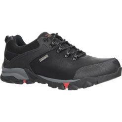 Czarne buty trekkingowe sznurowane Casu EXC7609. Czarne buty trekkingowe męskie Casu, na sznurówki. Za 129,99 zł.