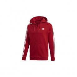 Bluzy dresowe adidas  Bluza z kapturem 3-Stripes. Czerwone bluzy dresowe męskie marki KALENJI, m, z długim rękawem, długie. Za 329,00 zł.
