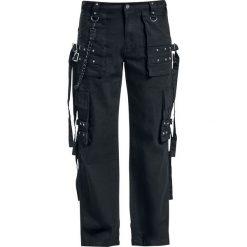 Bojówki męskie: Black Premium by EMP Army Vintage Trousers Spodnie czarny
