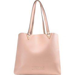 Shopper bag damskie: Valentino by Mario Valentino CALENDULA  Torba na zakupy cipria