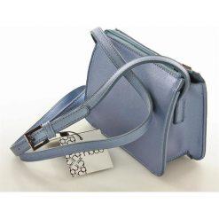 Listonoszki damskie: Niewielka torebka listonoszka niebieski