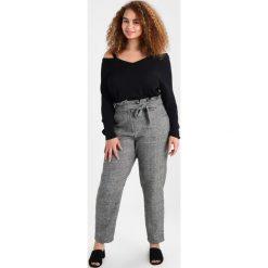 Swetry klasyczne damskie: Evans CUT OUT SHOULDER JUMPER Sweter black