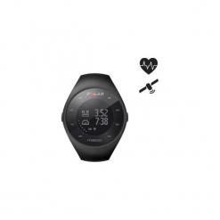Zegarek do biegania GPS z czujnikiem kardio M200 (M/L). Czarne zegarki męskie Polar. Za 499,99 zł.