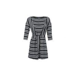 Sukienki krótkie Loreak Mendian  PILI. Sukienki małe czarne marki Loreak Mendian, l, z krótkim rękawem. Za 455,20 zł.