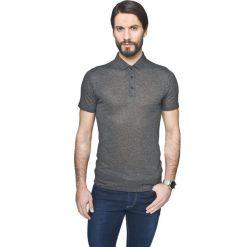 Koszulka polo piave grafit. Szare koszulki polo marki Recman, m, z długim rękawem. Za 49,99 zł.