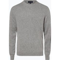 Andrew James - Sweter męski z dodatkiem kaszmiru, szary. Szare swetry klasyczne męskie Andrew James, l, z kaszmiru. Za 229,95 zł.