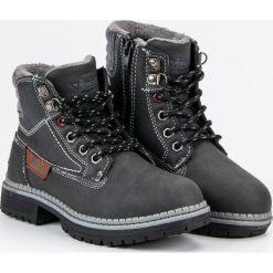 Buty dziecięce chłopięce traperki szare r. 32. Szare buty zimowe chłopięce American CLUB. Za 151,12 zł.