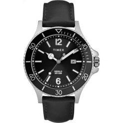 Timex - Zegarek TW2R64400. Czarne zegarki męskie marki Fossil, szklane. Za 329,90 zł.