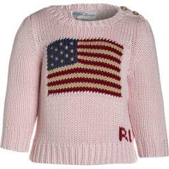 Polo Ralph Lauren AMERICAN Sweter french pink. Czerwone swetry dziewczęce marki Polo Ralph Lauren, z bawełny, polo. W wyprzedaży za 202,95 zł.