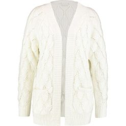 Swetry damskie: Vila VISATIRA CARDIGAN Kardigan white alyssum
