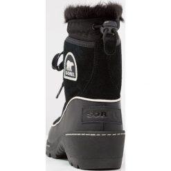 Buty zimowe damskie: Sorel TORINO Botki black/light bisque