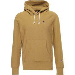 Champion Reverse Weave Bluza z kapturem dark yellow. Żółte bluzy męskie rozpinane Champion Reverse Weave, m, z bawełny, z kapturem. W wyprzedaży za 377,10 zł.