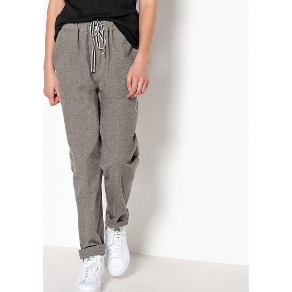 384cdd908efac5 Spodnie flanelowe, 10-16 lat - Szare spodnie chłopięce La Redoute ...