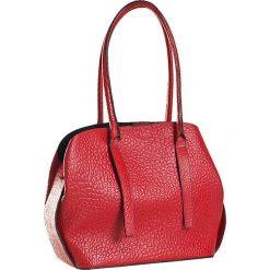 Torebki klasyczne damskie: Skórzana torebka w kolorze czerwonym