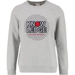 Bejsbolówki męskie: Knowledge Cotton Apparel Bluza grey melange
