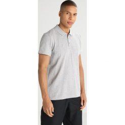 Adidas Performance ESSENTIALS BASE Koszulka polo medium grey heather. Szare koszulki polo marki adidas Performance, m, z bawełny. W wyprzedaży za 126,65 zł.