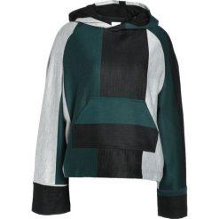 Bluzy damskie: House of Sunny HERB Bluza z kapturem green